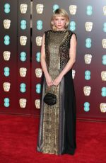 HALEY BENNETT at BAFTA Film Awards 2018 in London 02/18/2018