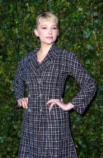 HALEY BENNETT at Charles Finch & Chanel Pre-bafta Party in London 02/17/2018