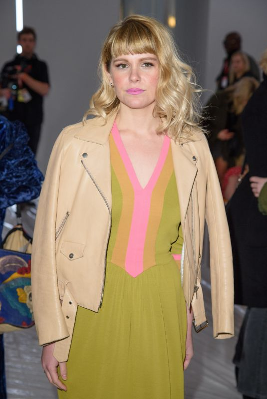 HANNAH ARTERTON at Jasper Conran Show at London Fashion Week 02/17/2018