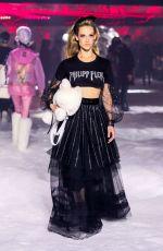 HANNAH FERGUSON at Philipp Plein Runway Show at New York Fashion Week 02/10/2018