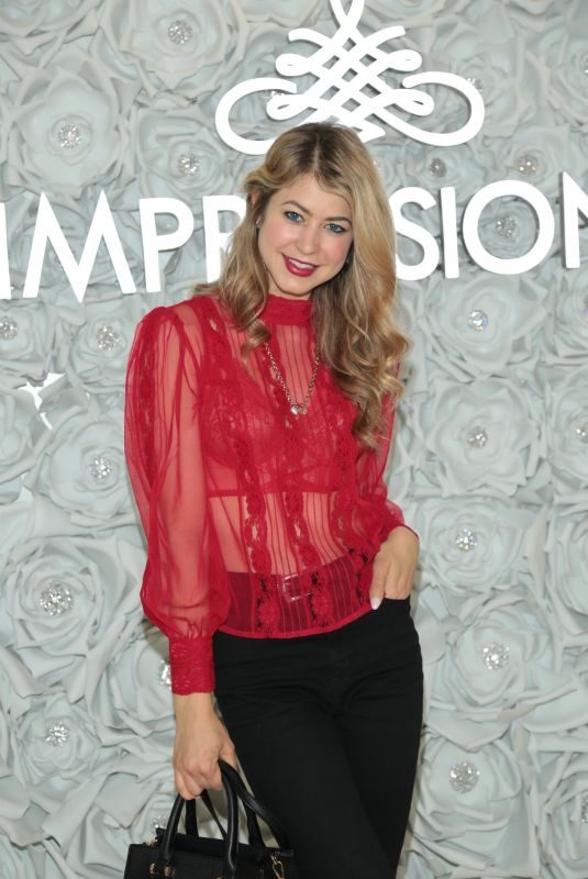 HANNAH KAT JONES at Gretchen Christine x Impressions Vanity PopUpParty in West Hollywood 02/10/2018