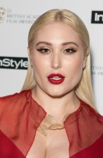 HAYLEY HASSELHOFF at Instyle EE Rising Star Baftas Pre-party in London 02/06/2018