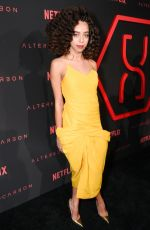 HAYLEY LAW at Altered Carbon Premiere in Los Angeles 02/01/2018