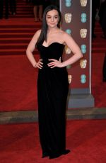 HAYLEY SQUIRES at BAFTA Film Awards 2018 in London 02/18/2018