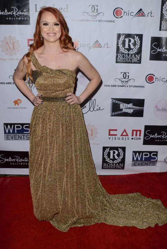 HEATHER GRACE HANCOCK at 4th Annual Roman Media Pre-Oscars Event in Hollywood 02/26/2018