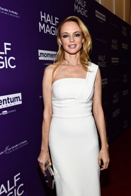 HEATHER GRAHAM at Half Magic Premiere in West Hollywood 02/21/2018