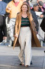 HEATHER GRAHAM at Jimmy Kimmel Live in Los Angeles 02/12/2018