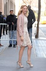 HEATHER GRAHAM Leaves The View in New York 02/27/2018