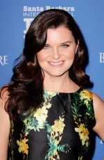 HEATHER TOM at Sbiff Opening Night Gala in Los Angeles 01/31/2018