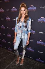 HEIDY DE LA ROSA at Black Panther Welcome to Wakanda NYFW Showcase in New York 02/12/2018