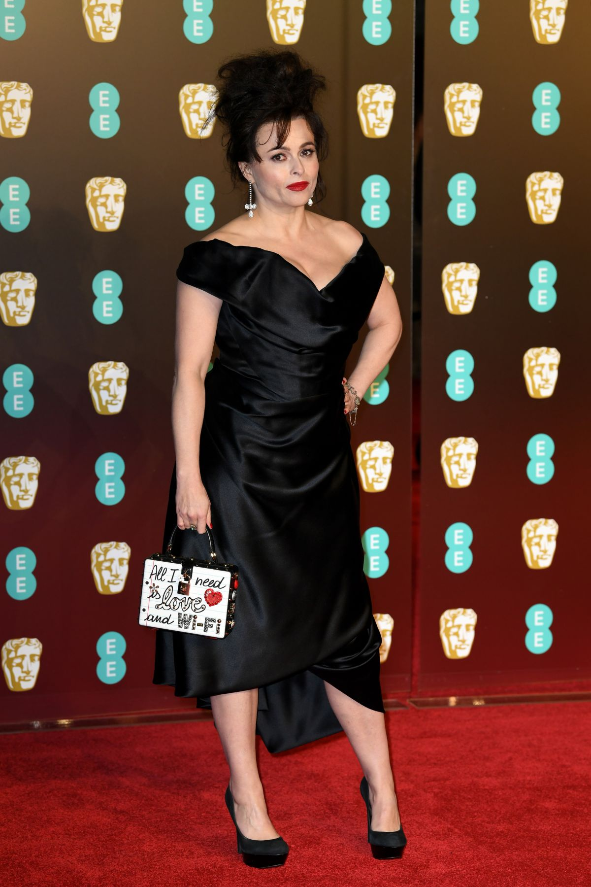 Helena Bonham Carter At Bafta Film Awards 2018 In London