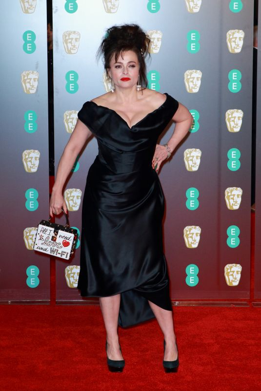 HELENA BONHAM CARTER at BAFTA Film Awards 2018 in London 02/18/2018