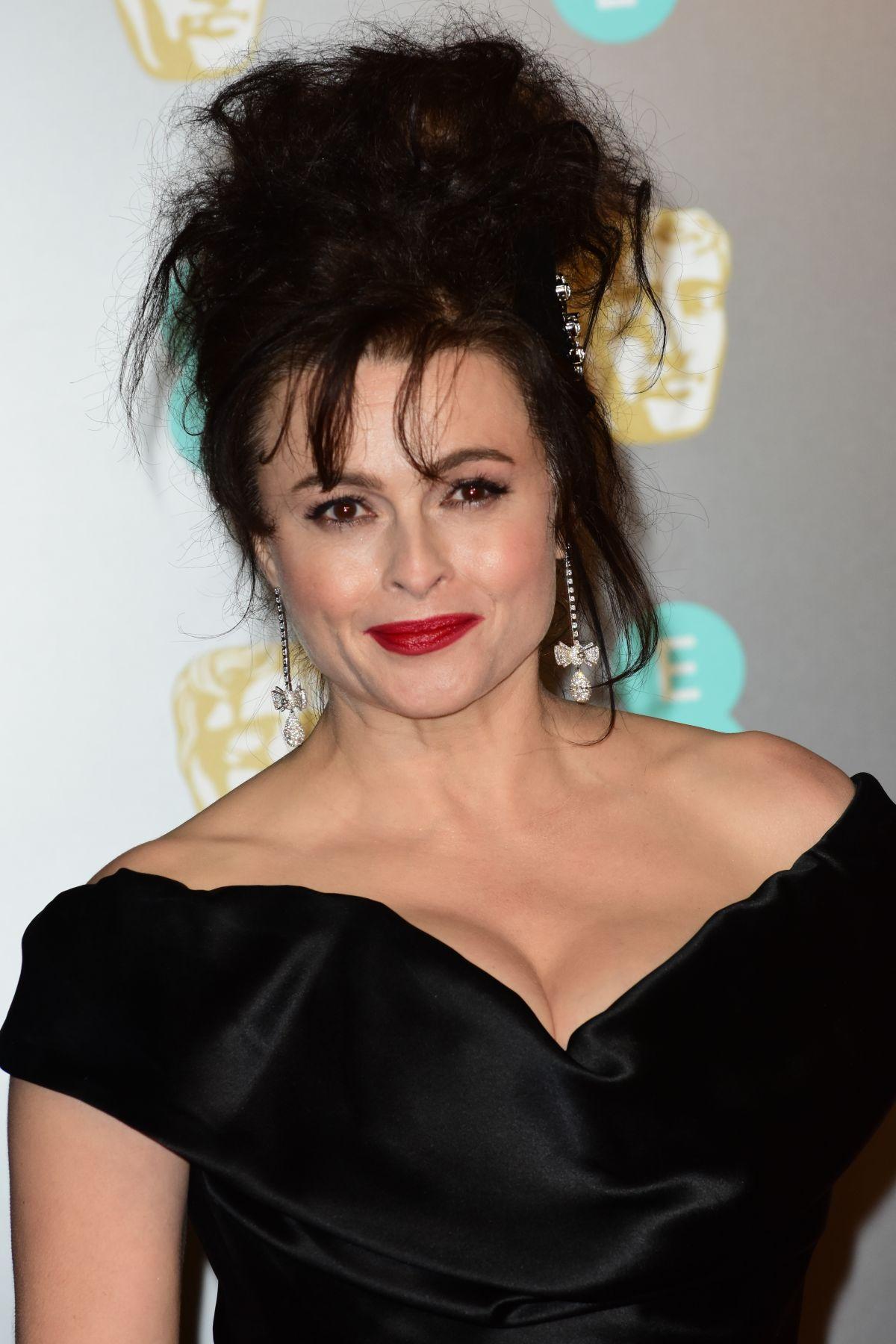 helena bonham carter at bafta film awards 2018 in london