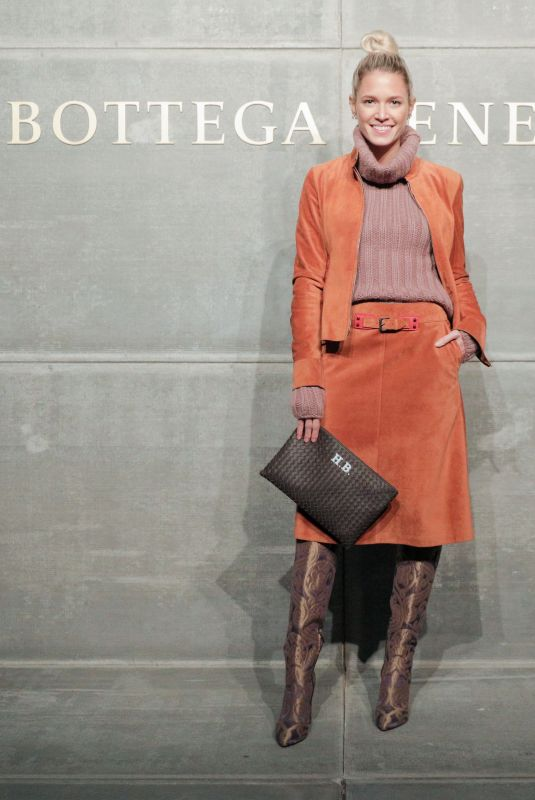 HELENA BORDON at Bottega Veneta Show at New York Fashion Week 02/09/2018