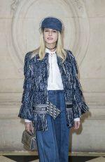 HELENA BORDON at Christian Dior Show at Paris Fashion Week 02/27/2018