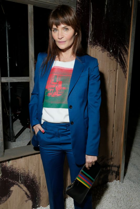 HELENA CHRISTENSEN at Calvin Klein Fashion Show at NYFW in New York 02/13/2018
