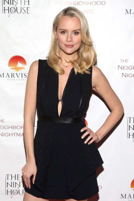HELENA MATTSSON at The Neighborhood Nightmare Screening in Sherman Oaks 02/25/2018