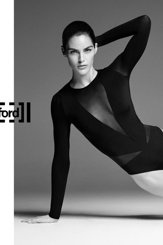 HILARY RHODA for Wolford Spring/Summer 2018 Campaign