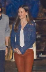 HILARY SWANK and Philip Schneider Out for Dinner at Soho in Malibu 02/09/2018
