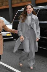 HILARY SWANK Arrives at Ralph Lauren Fashion Show in New York 02/12/2018