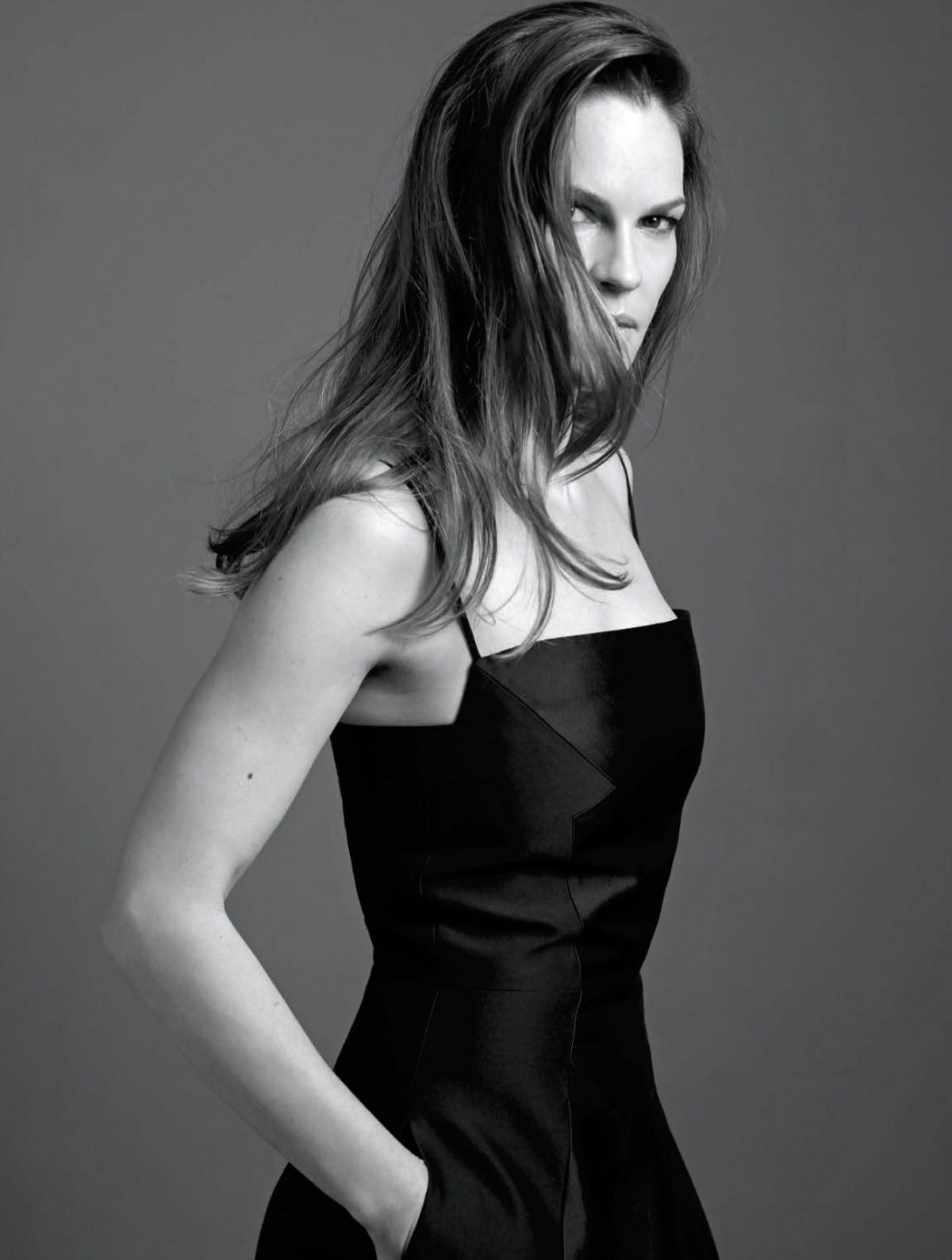 HILARY SWANK in Rhapso...