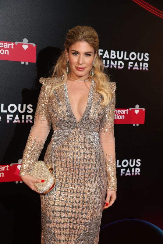 HOFIT GOLAN at Fabulous Fund Fair 2018 in London 02/20/2018