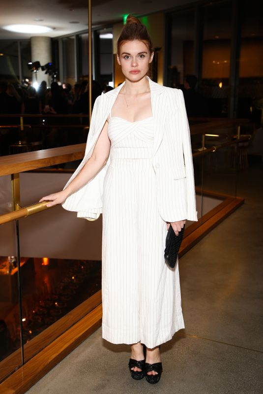 HOLLAND RODEN at Rachel Zoe Fall 2018 Collection Presentation in Los Angeles 02/05/2018