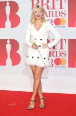 HOLLY WILLOGHBY at Brit Awards 2018 in London 02/21/2018