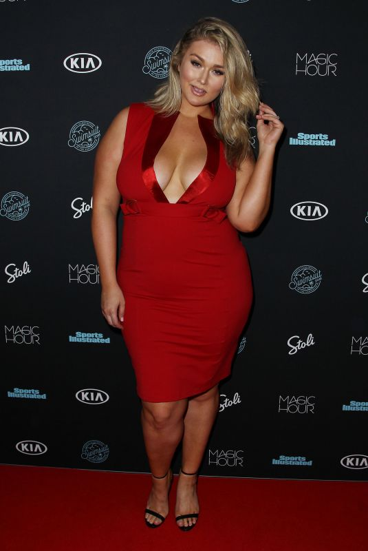 HUNTER MCGRADY at Sports Illustrated Swimsuit Issue 2018 Launch in New York 02/14/2018
