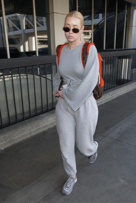 IGGY AZALEA at LAX Airport in Los Angeles 02/18/2018