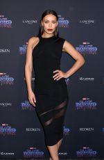 ILFENESH HADERA at Black Panther Welcome to Wakanda NYFW Showcase in New York 02/12/2018