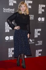IMOGEN POOTS at Mobile Homes Premiere at Glasgow Film Festival 02/26/2018