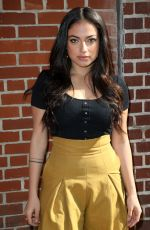 INANNA SARKIS Arrives at Alice + Olivia Fashion Show at NYFW in New York 02/13/2018