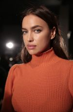 IRINA SHAYK at Bottega Veneta Show at New York Fashion Week 02/09/2018
