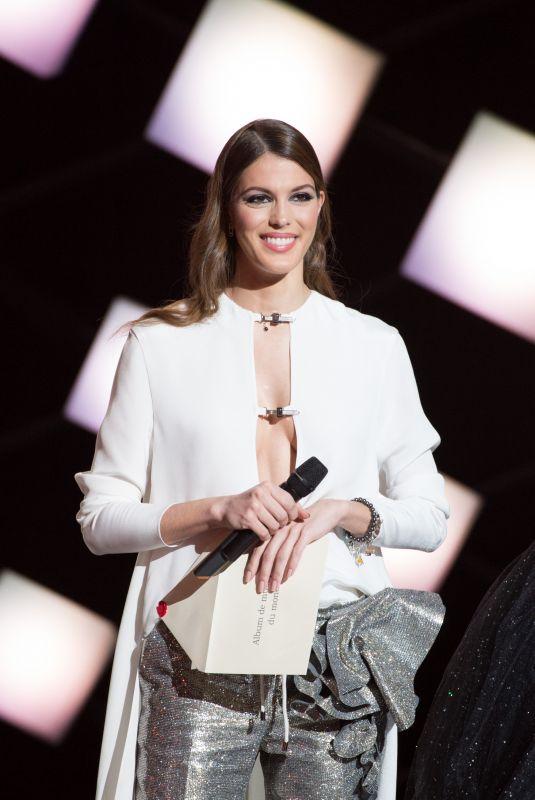IRIS MITTENAERE at Ceremonie Des Victoires De La Musique 2018 in Paris 02/09/2018