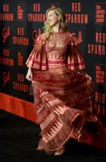 ISABELLA BOYLSTON at Red Sparrow Premiere in New York 02/26/2018