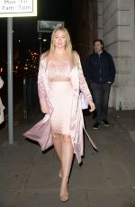 ISKRA LAWRENCE at Wonderland Magazine x MTV Party at London Fashion Week 02/16/2018