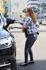 ISLA FISHER Out and About in Los Angeles 02/05/2018
