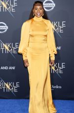 ISSA RAE at A Wrinkle in Time Premiere in Los Angeles 02/26/2018