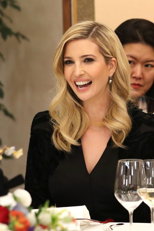 IVANKA TRUMP at Dinner at Presidential Office Cheong Wa Dae in South Korea 02/23/2018