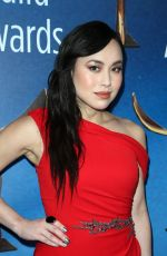 IVORY AQUINO at Writers Guild Awards 2018 in Beverly Hills 02/11/2018