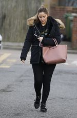 JACQUELINE JOSSA Arrives at Estate Agent