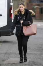 JACQUELINE JOSSA Arrives at Estate Agent