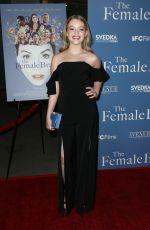 JADE PETTYJOHN at The Female Brain Premiere in Los Angeles 02/01/2018