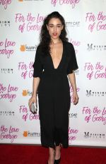 JADE TAILOR at For the Love of George Premiere in Los Angeles 02/12/2018