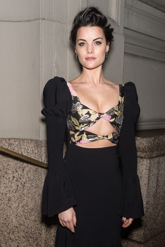 JAIMIE ALEXANDER Arrives at Christian Siriano Show at New York Fashion Week 02/10/2018