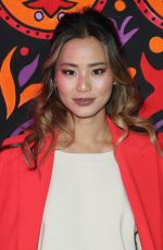 JAMIE CHUNG at Anna Sui Fall/Winter 2018 Fashion Show at NYFW in New York 02/12/2018
