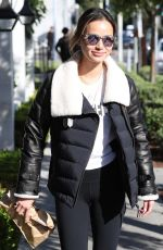 JAMIE CHUNG at Gracias Madre in West Hollywood 02/22/2018