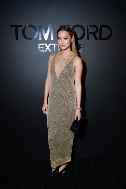 JAMIE CHUNG at Tom Ford: Extreme Cocktail Party at HYFW in New York 02/09/2018