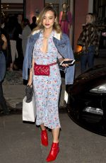 JAMIE CHUNG at Veronica Beards Boutique Store in West Hollywood 02/21/2018
